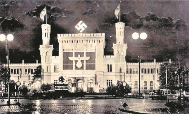 Przeszklony dworzec Friedrichstrasse w centrum Berlina, na którym Zagra-Lin dwukrotnie podłożył bomby