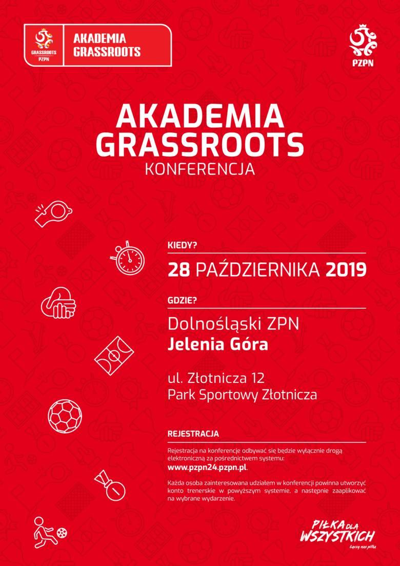 Akademia Grassroots - bezpłatna konferencja o szkoleniu dzieci i młodzieży już wkrótce w województwie dolnośląskim!