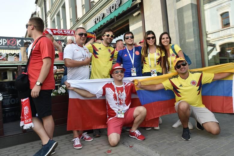 Mundial 2018. Kibice przed meczem Polska - Kolumbia w Kazaniu [ZDJĘCIA]