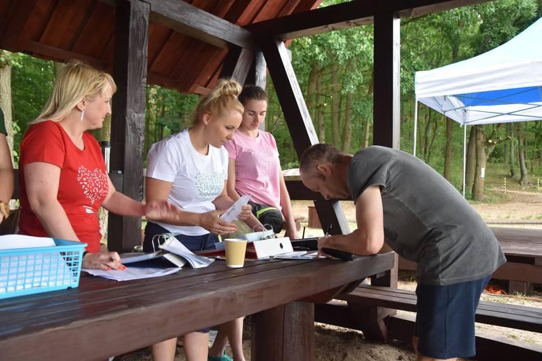 W Obłężu (gmina Kępice) odbyła się impreza biegowa Zielona Dycha, której ambasadorką była Małgorzata Pazda-Pozorska z Kobylnicy (znakomita zawodniczka,
