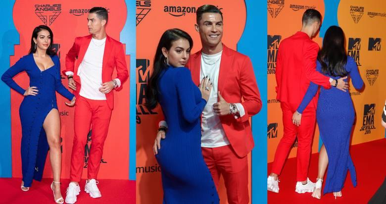 W niedzielny wieczór Cristiano Ronaldo uświetnił galę MTV Europe Music Awards. Na muzyczną imprezę przybył ze swoją partnerką Georginą Rodriguez. Para