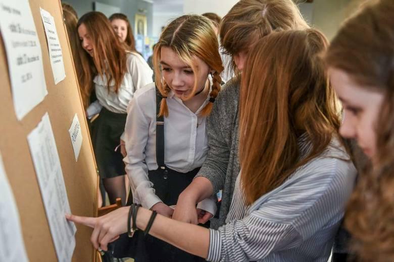 Egzamin gimnazjalny 2017 w Gimnazjum nr 56 w Poznaniu