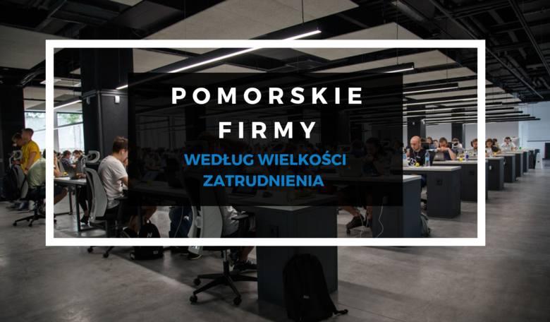 TOP 100 POMORSKICH FIRM. Które firmy na Pomorzu zatrudniają najwięcej pracowników?