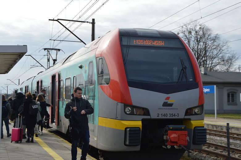 Co się dzieje na dworcu kolejowym w Zgierzu?