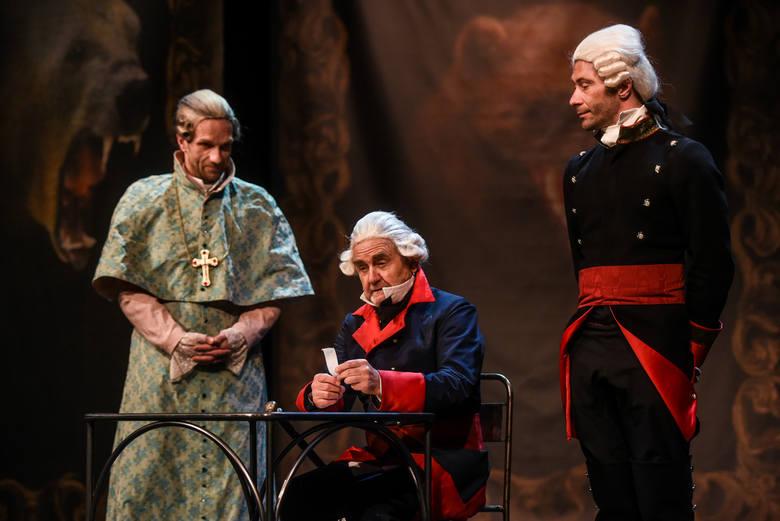 Na scenie wystąpi Jan Peszek. Reżyserem spektaklu jest Jan Klata. Premiera 5 maja, o godzinie 19 w Teatrze Polskim w Poznaniu