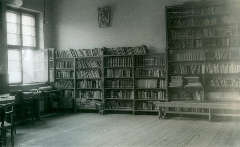 Biblioteka seminaryjna w budynku przy ulicy Słonimskiej 8