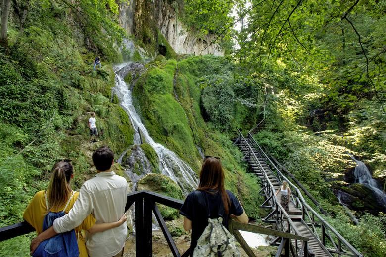 Wodospad Jankovac to jeden ze skarbów Slawonii