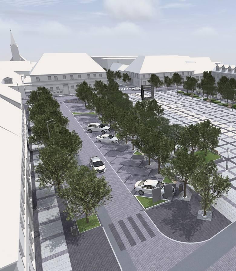 Tak ma wyglądać plac Wileński po przebudowie