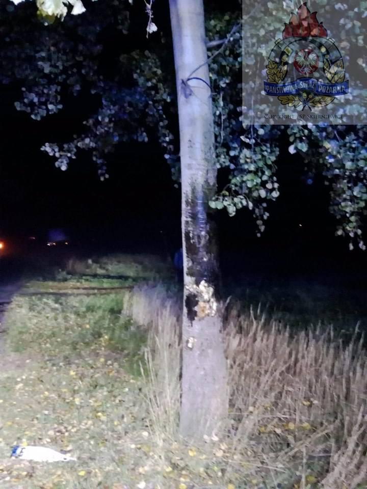 Wypadek na drodze między Zapadami a Godzianowem