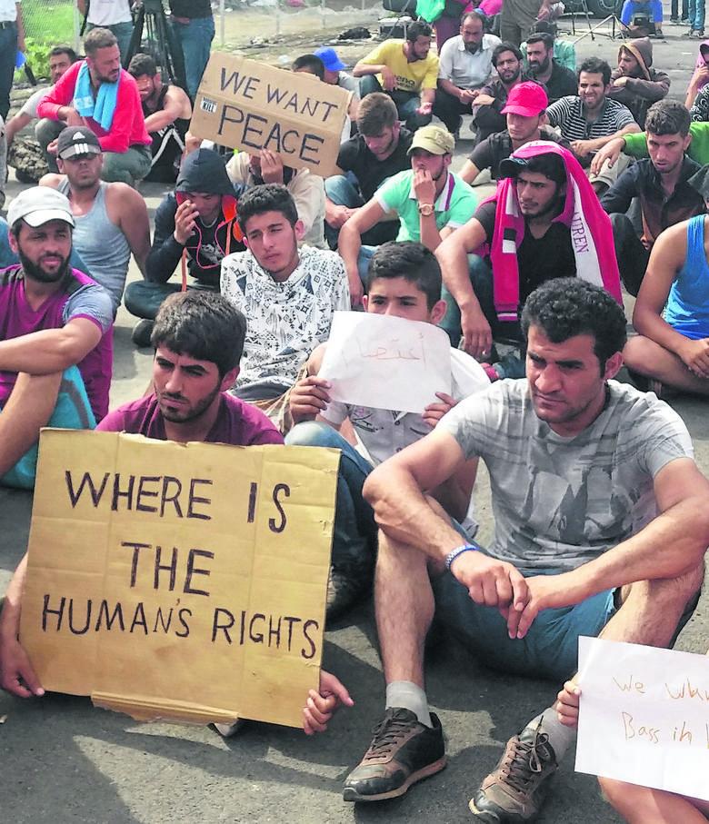 Uchodźcy z Syrii na Węgrzech