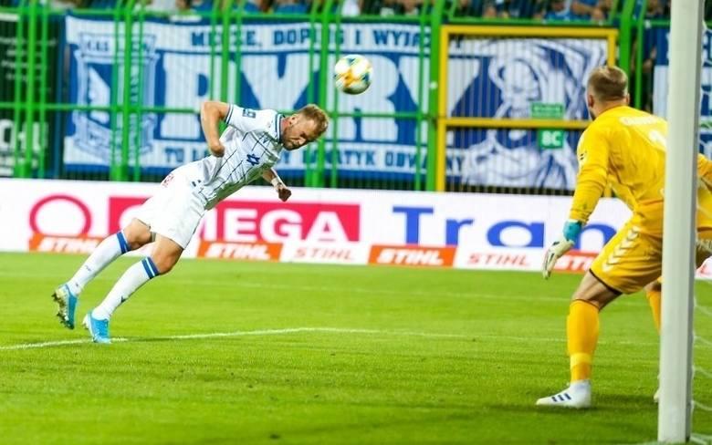Christian Gytkjaer w Lechu Poznań ma niepodważalną pozycję pierwszego napastnika. Może jednak warto spróbować wariant na dwóch snajperów już od pierwszej