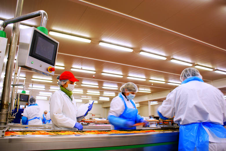 Przetwórnia łososia w Duninowie pod Ustką jest największym zakładem Mowi Poland.