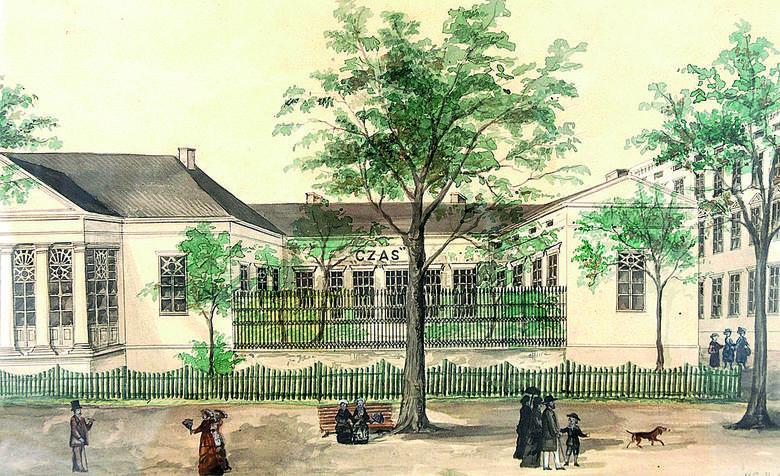 Portret Piotra Antoniego Steinkellera z 1859 r. Zakład litograficzny Maksymiliana Fajansa w Warszawie