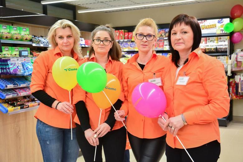 Na zakupy do nowej Gamy zapraszają: Agnieszka, Ewa, Monika i Iwona.