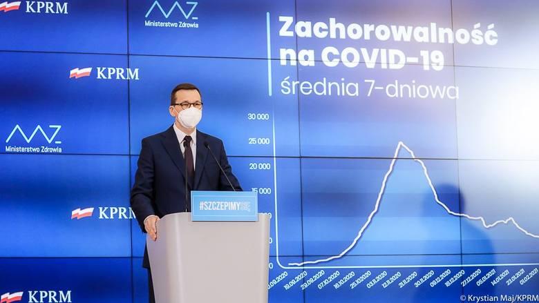 Premier Mateusz Morawiecki zapowiedział luzowanie obostrzeń przeciw COVID-19, ale Obowiązywał będzie ścisły reżim sanitarny. Sprawdź, co będzie otwarte,