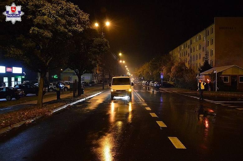 2 października - Biała Podlaska65-latek kierujący samochodem marki Citroen Jumper potrącił 18-latkę, która przechodziła przez jezdnię na przejściu dla