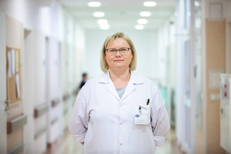 Dr Dorota Dybowska jest lekarzem w Wojewódzkim Szpitalu Obserwacyjno - Zakaźnym w Bydgoszczy