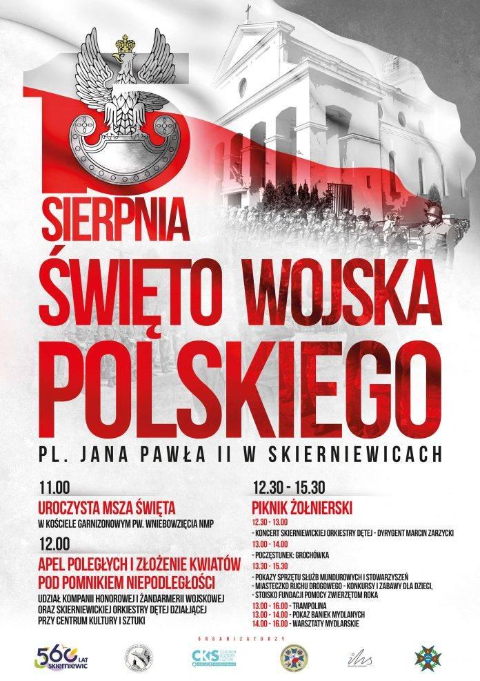 Lato w mieście: Święto Wojska Polskiego i dwa koncerty