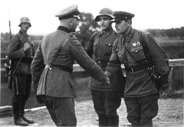 """Wrzesień 1939 r. Spotkanie """"sojuszników"""""""