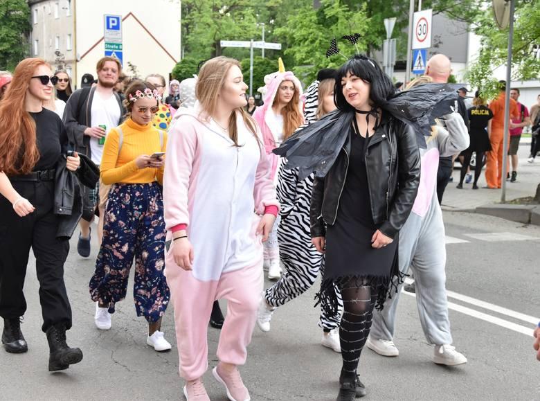 W Opolu trwają Piastonalia. W środę tłum fantazyjnie przebranych studentów przemaszerował przez miasto. Studenci wyruszyli spod politechniki przy ul.