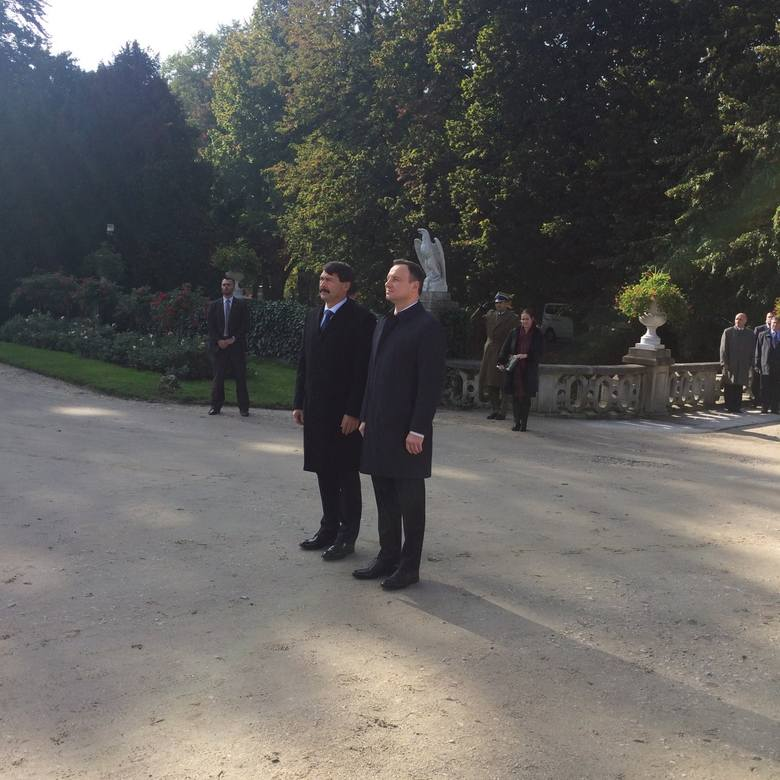 Trwa spotkanie prezydentów w Łańcucie