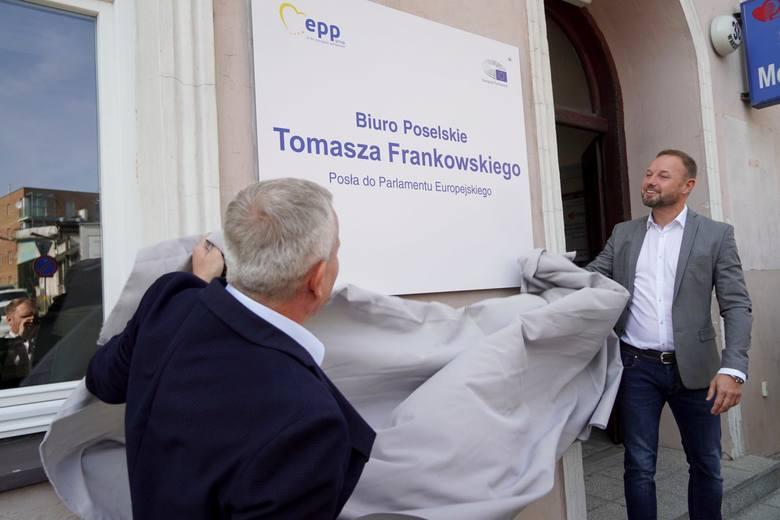 Pierwsze biuro poselskie Tomasza Frankowskiego zostało oficjalnie otwarte