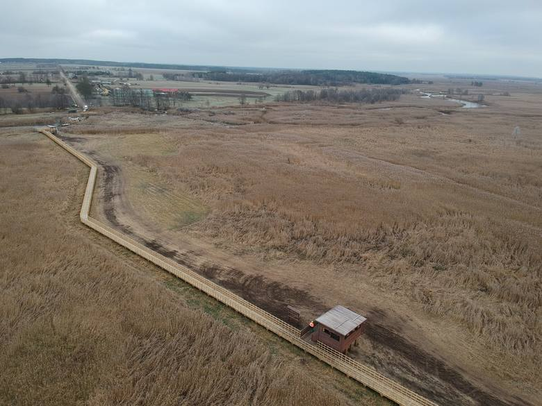 Kładka Waniewo - Śliwno ponownie otwarta po modernizacji! Wszystko kosztowało 3,6 mln zł (zdjęcia)