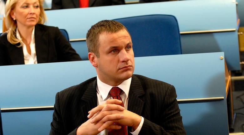 Arkadiusz Pawlak, radny, szef komisji ds. rozwoju i promocji miasta.
