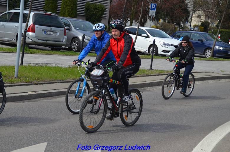 W wiosennym rajdzie rowerowym Cztery Pory Roku wzięło udział 150 osób