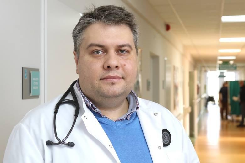 Profesor Zbigniew Siudak, kierownik Oddziału Interny w Wojewódzkim Szpitalu Zespolonym w Kielcach jest jednym z ekspertów, który będzie odpowiadał na