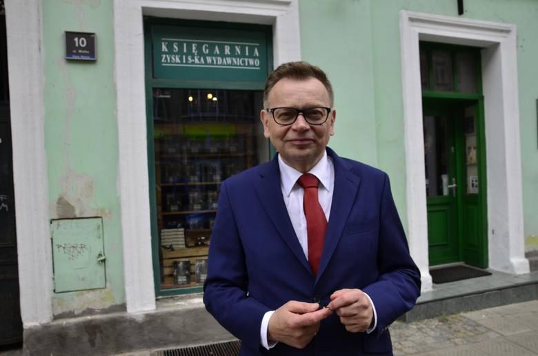 Były kandydat na prezydenta Poznania Tadeusz Zysk spadł na piąte miejsce.