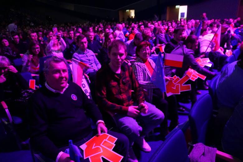 Konwencja Roberta Biedronia w Poznaniu