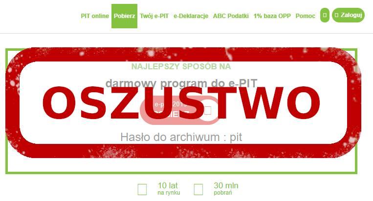 Oszuści zmodyfikowali jeden z programów do wypełniania PIT-ów!