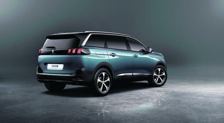 Peugeot zmienił model 5008 z vana na SUV-a