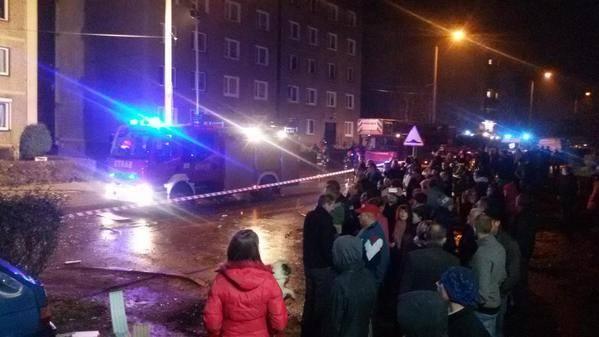 Wybuch gazu w Bytomiu nastąpił w bloku przy Energetyki