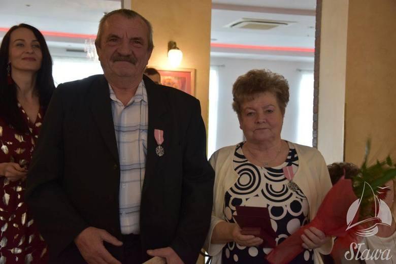 Uroczystość złotych i diamentowych godów w gminie Sława