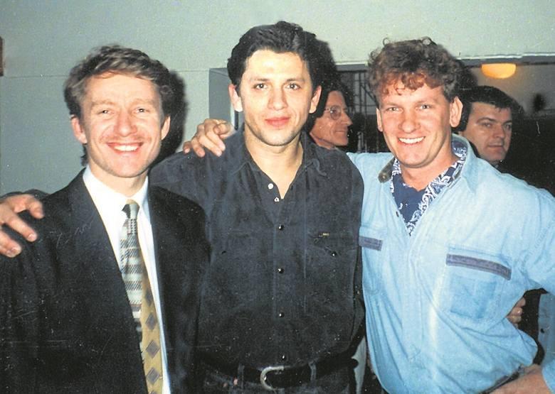 Camerimage' 96 z Markiem Żydowiczem i Januszem Józefowiczem.
