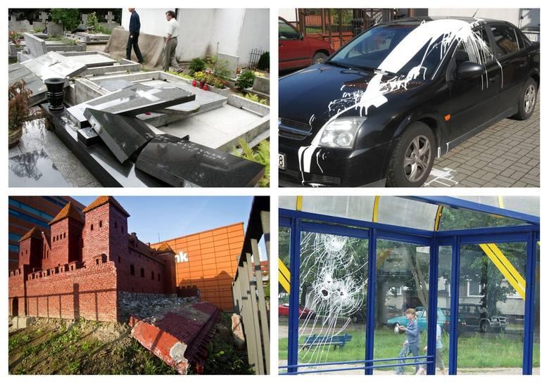 """Bydgoski ratusz opublikował zdjęcia oraz informacje o przypadkach wandalizmu w mieście i apeluje do mieszkańców: """"Nie  pozostawajcie obojętni"""