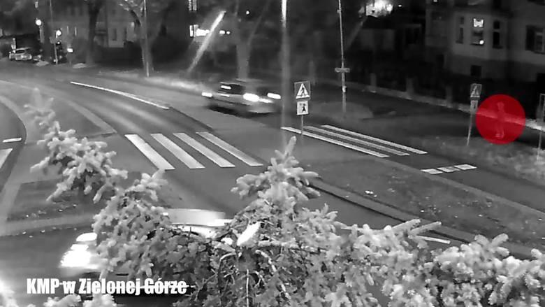 Kadr z filmu z monitoringu miejskiego