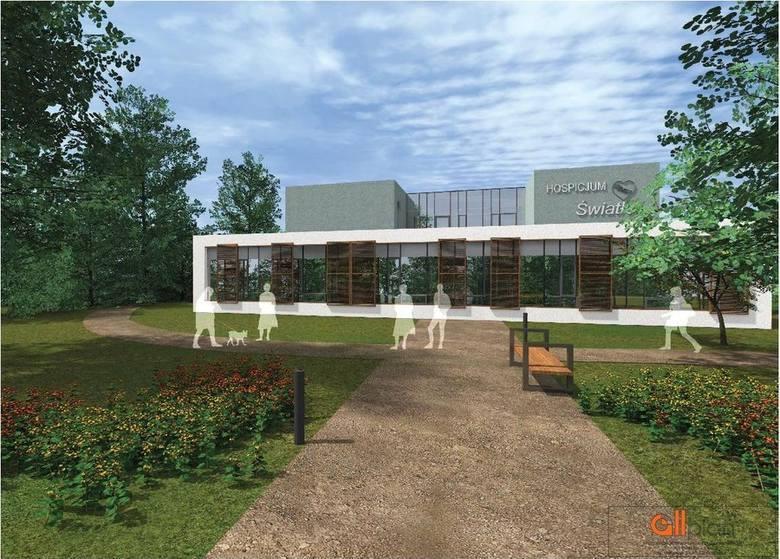 """Tak będzie wyglądał nowy budynek dla Hospicjum """"Światło"""""""