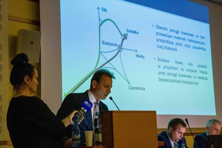 Podczas sesji sejmiku województwa podlaskiego Marek Kubera, zastępca dyrektora Centrum Realizacji Inwestycji PKP PLK, poinformował, że są cztery nowe