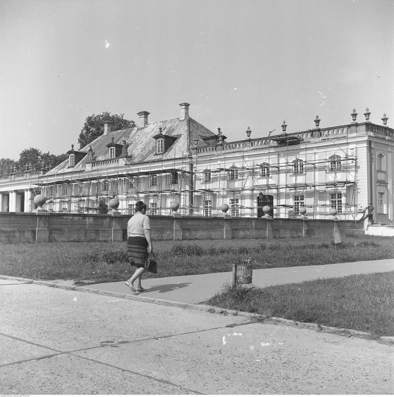Odbudowa Pałacu Branickich