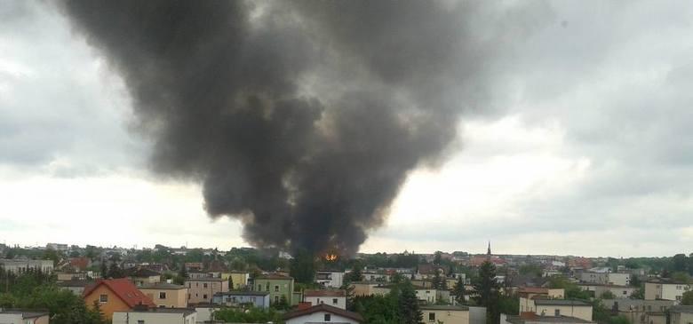 Pożar młynów 2013 rok