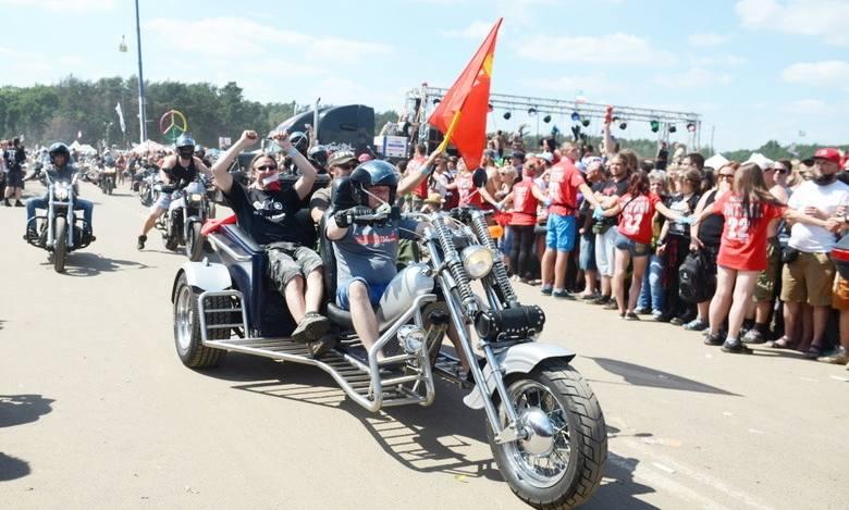 Motocykliści to co roku ogromna grupa uczestników Pol'and'Rock Festiwalu (wcześniej Przystanku Woodstock). Jest ich tak dużo, że mają własne, niezależne
