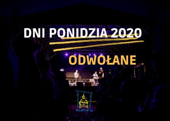 Odwołana największa impreza w powiecie pińczowskim - Dni Ponidzia 2020! To decyzja związana z epidemią koronawirusa