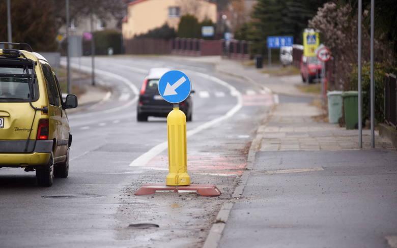 Cześć zielonogórzan uważa ul. Poznańską za niebezpieczną dla pieszych i rowerzystów