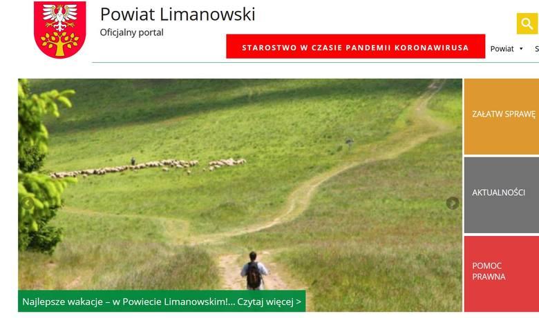 1. Powiat limanowski - 119 rozwodów na 1000 zawartych małżeństw