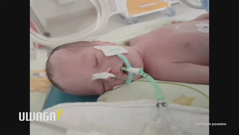 """UWAGA! TVN Siedlce: Śmierć po porodzie, rodzice winą obarczają szpital. Dyrektor: """"Los tego dziecka oparł się o 20 zł"""""""