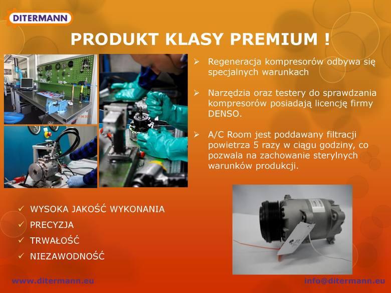 Ditermann - fabrycznie regenerowane kompresory klimatyzacji