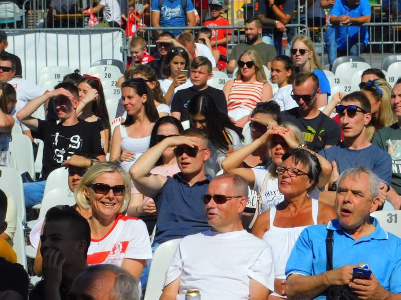 Tak wyglądała dzisiaj strefa Kibica podczas meczu Polska - Japonia. Tak wyglądała strefa kibica podczas meczu Polska - Kolumbia: